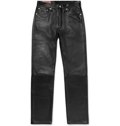 Acne Studios 1996 Slim-Fit Leather Trousers