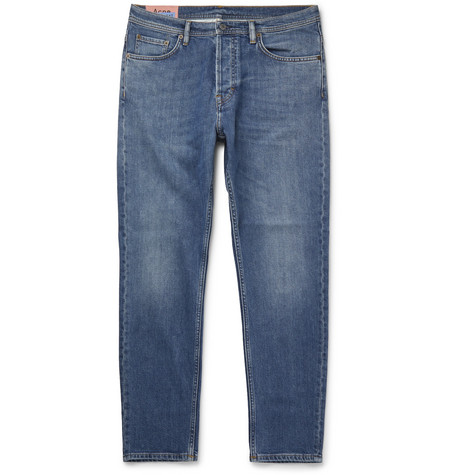 Acne Studios River Slim-Fit Tapered Denim Jeans