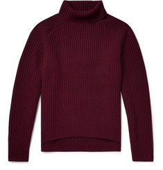 Acne Studios Kally Ribbed Wool Rollneck Sweater