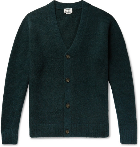 Wool Blend Cardigan by Acne Studios