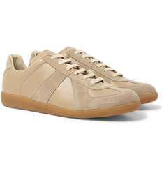Maison Margiela - Replica Leather and Suede Sneakers