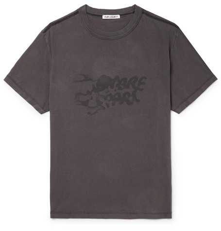 Chambre Séparée Logo Print Cotton Jersey T Shirt by Our Legacy