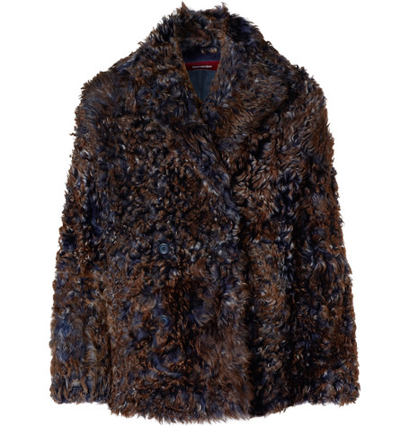 Sies Marjan Emery Tigrado Shearling Peacoat