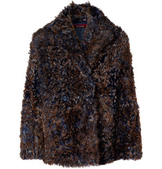 Sies Marjan - Emery Tigrado Shearling Peacoat