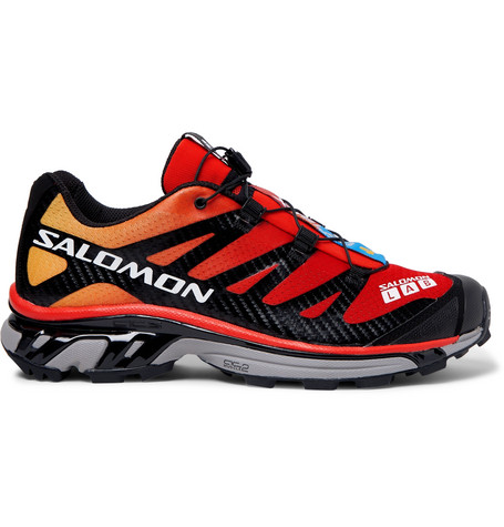 Salomon S/LAB XT-4 ADV Mesh and Rubber Running Sneakers