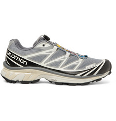 Salomon S/LAB XT-6 Softground LT ADV Mesh and Rubber Running Sneakers