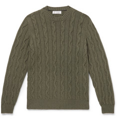 Brunello Cucinelli - Cable-Knit Cashmere Sweater