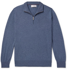 Brunello Cucinelli - Cashmere Half-Zip Sweater