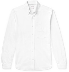 Brunello Cucinelli Slim-Fit Cotton-Piqué Shirt