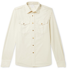 Brunello Cucinelli Cotton-Corduroy Shirt
