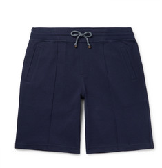 Brunello Cucinelli Cotton-Blend Jersey Drawstring Shorts