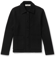 Séfr Nico Textured-Knit Overshirt