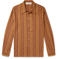 Séfr Ripley Striped Cotton-Twill Overshirt