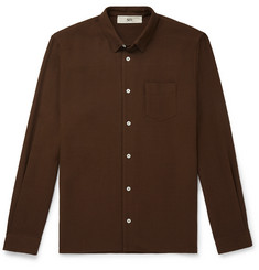Séfr Hampus Slim-Fit Crepe Shirt