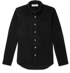 Séfr Leo Slim-Fit Cotton-Terry Shirt