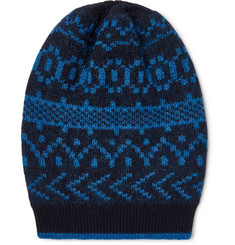 Massimo Alba - Cashmere, Mohair and Silk-Blend Jacquard Beanie