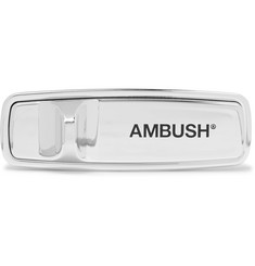 AMBUSH® Anti-Theft Logo-Print Plastic Pin