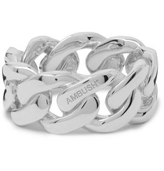 AMBUSH® Chain Sterling Silver Ring
