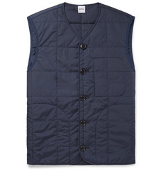 Aspesi Thermore Slim-Fit Quilted Shell Padded Gilet