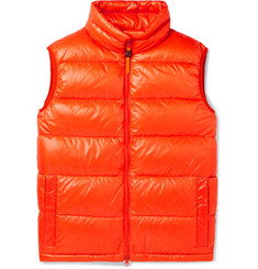 Aspesi Quilted Nylon-Ripstop Down Gilet