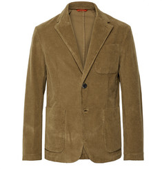Barena - Brown Stretch-Cotton Corduroy Blazer