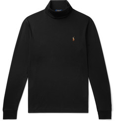 Polo Ralph Lauren Pima Cotton-Jersey Rollneck T-Shirt