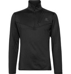 Salomon Discovery Stretch-Jersey Half-Zip Mid-Layer