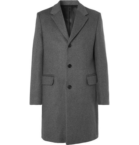 Acne Studios – Gavin Mélange Wool-blend Overcoat – Gray