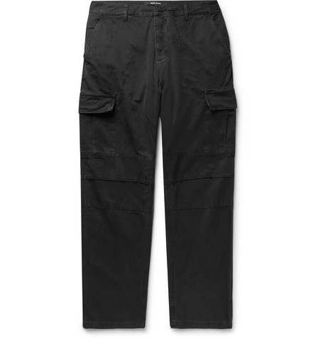 Cotton Twill Cargo Trousers by Reese Cooper®