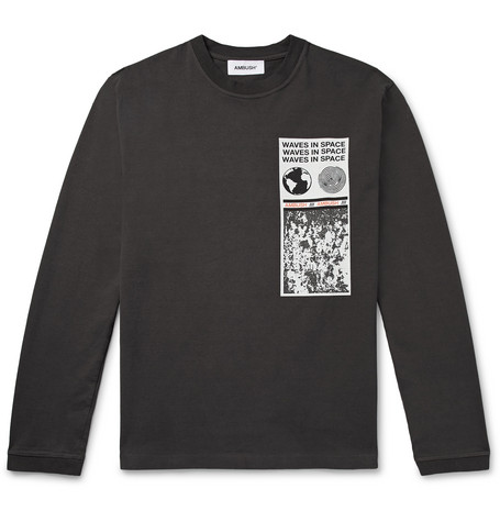 AMBUSH® Printed Cotton-Jersey T-Shirt