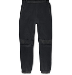 AMBUSH® Distressed Loopback Cotton-Jersey Sweatpants