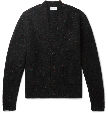 John Elliott Oversized Donegal Knitted Cardigan