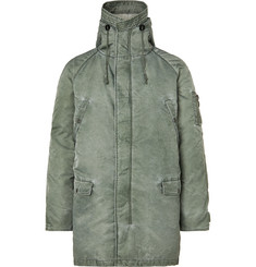 John Elliott Nicasio Fleece-Lined Padded Shell Down Parka