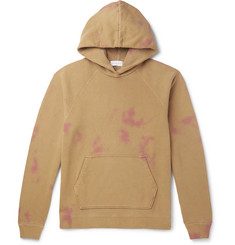 John Elliott Double-Dyed Loopback Cotton-Jersey Hoodie