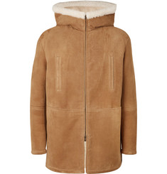 Saint Laurent Shearling Parka