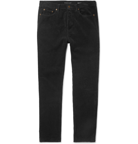 Saint Laurent Cotton-Corduroy Trousers