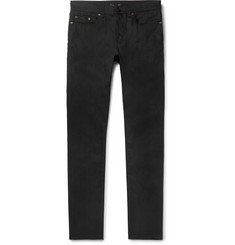 SAINT LAURENT - Skinny-Fit Raw Stretch-Denim Jeans