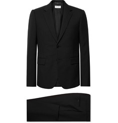 SAINT LAURENT - Black Slim-Fit Virgin Wool-Gabardine Suit