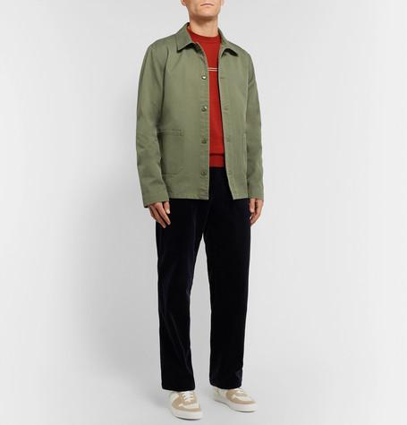 Kerlouan Cotton Gabardine Jacket by A.P.C.