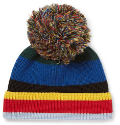 Loewe - Eye/LOEWE/Nature Striped Ribbed Wool Beanie