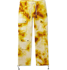 Palm Angels Tie-Dye Shell Cargo Trousers