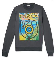 Loewe - Eye/LOEWE/Nature Printed Fleece-Back Cotton-Jersey Sweatshirt