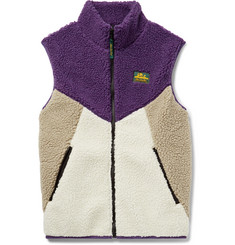 Aimé Leon Dore Colour-Block Fleece Gilet