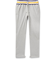 Aimé Leon Dore Mélange Loopback Cotton-Jersey Sweatpants