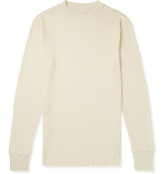 Aimé Leon Dore Slim-Fit Waffle-Knit Cotton Mock-Neck T-Shirt