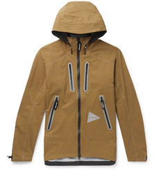 And Wander E Vent Nylon-Ripstop Hooded Jacket