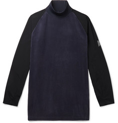 And Wander Fleece and Shell Rollneck Base Layer