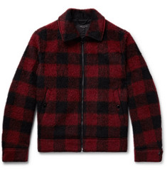 rag & bone Buffalo Checked Brushed Woven Jacket