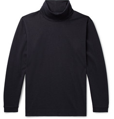 NN07 Zyron Cotton and Tencel-Blend Jersey Rollneck Sweater