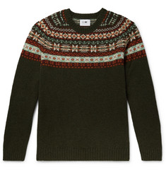 NN07 Fair Isle Wool Sweater